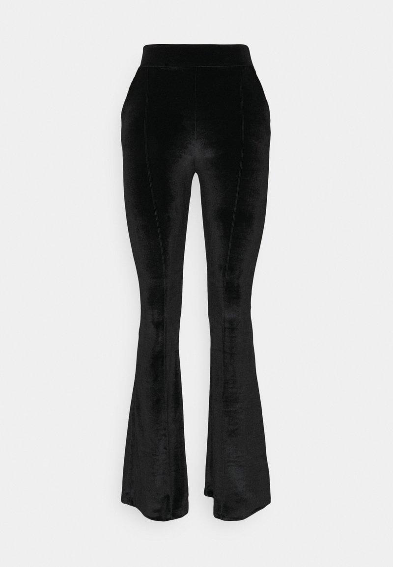Trendyol - SIYAH - Trousers - black