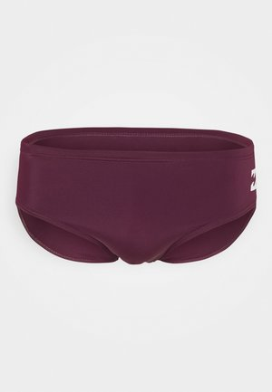 FONTANA - Swimming briefs - bordeaux