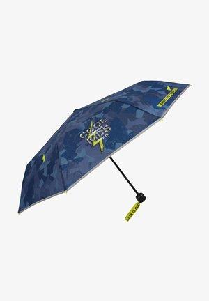 FOLDING MIMETIC UMBRELLA - Umbrella - blu