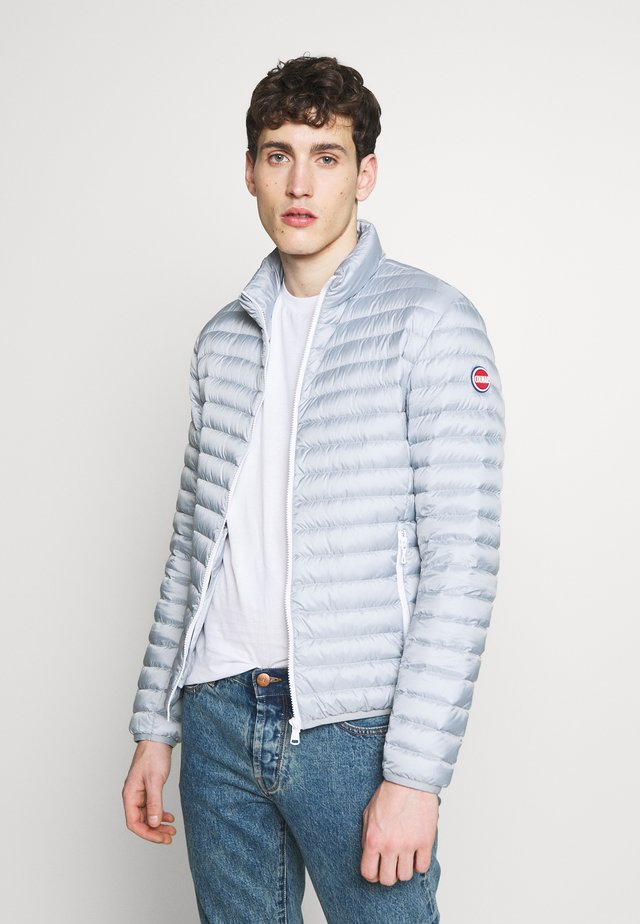 MENS JACKET - Down jacket - light steel