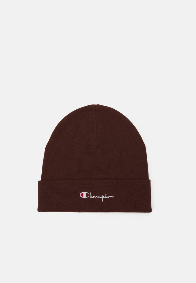 BEANIE - Bonnet - brown