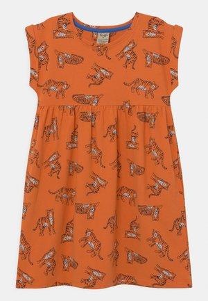 FRAN TIGERS - Jersey dress - marigold