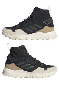adidas Performance - TERREX HIKSTER MID - Scarpa da hiking - core black/grey six/white - 7