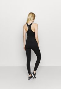 NU-IN - ZIP UP LONG BODYSUIT - Gym suit - black - 2