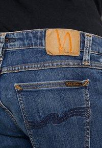 Nudie Jeans - SKINNY LIN - Jeans Skinny Fit - dark blue navy - 4