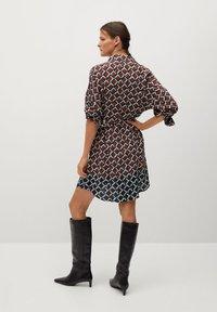 Mango - Shirt dress - marron - 2