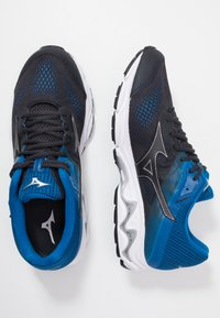Mizuno - WAVE INSPIRE 15 - Stabilty running shoes - blue graphite/snorkel blue