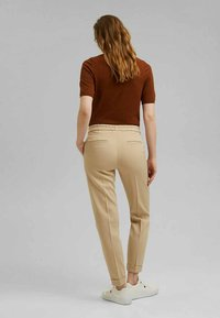 Esprit Collection - Trousers - sand - 4