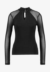 Forever New - RUBY TWIST NECK KEY HOLE - Langarmshirt - black - 4
