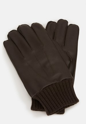 HACKNEY GLOVES  - Gloves - dark brown