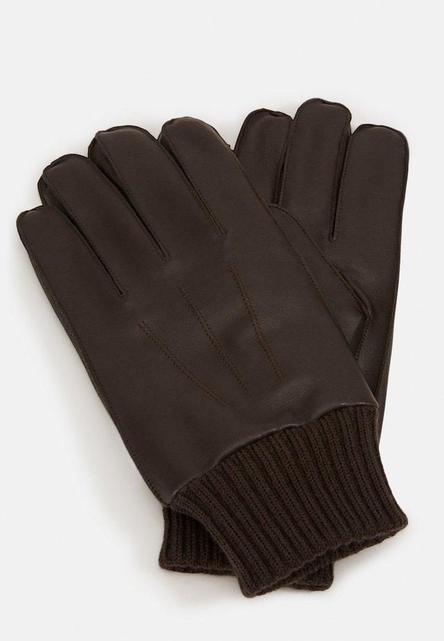 HACKNEY GLOVES  - Gloves - dark brown