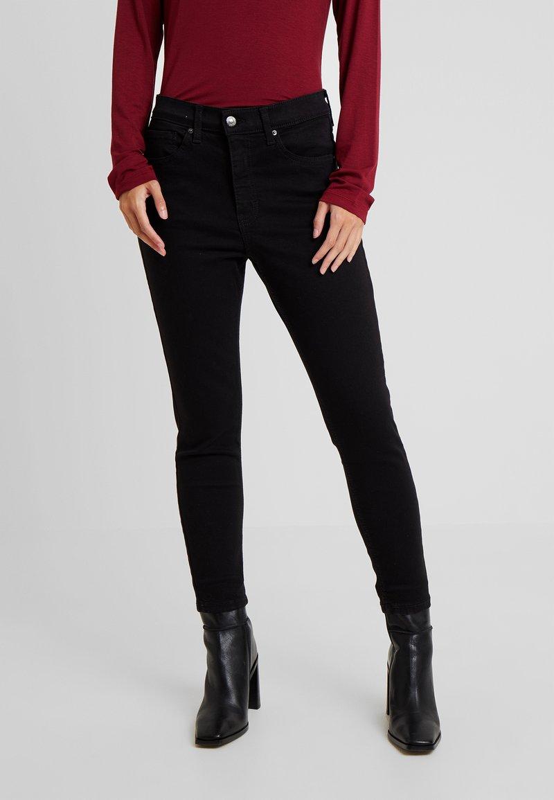 Topshop Petite - JAMIE CLEAN - Jeans Skinny Fit - black