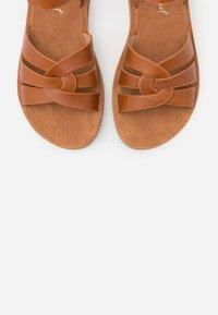 New Look Wide Fit - HELGA - Sandaler m/ kilehæl - tan - 5