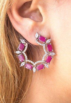 RITUAL HOOP - Earrings - pink