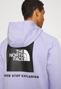 The North Face - RAGLAN HOODIE - Felpa con cappuccio - sweet lavender - 6