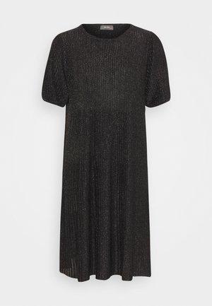 META  - Gebreide jurk - black