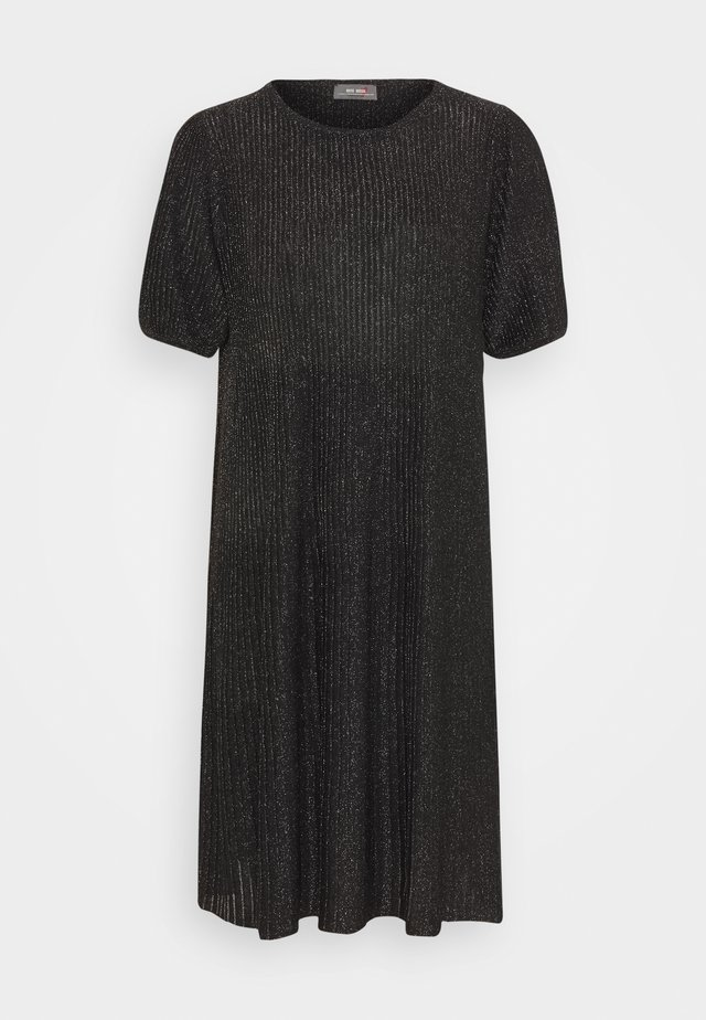 META  - Vestido de punto - black