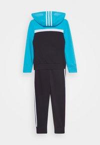 adidas Performance - HOODIE TRAINING SPORTS TRACKSUIT - Trainingsanzug - purple/cyan/white - 1