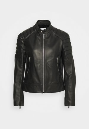 Leather jacket - noir