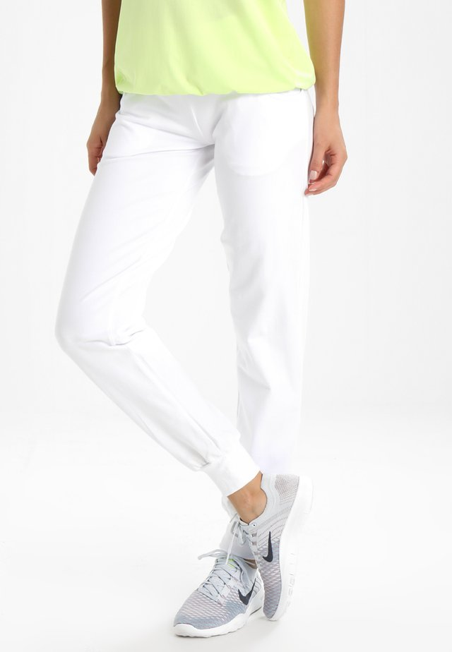 VALLEY TOR PANTS - Tracksuit bottoms - white