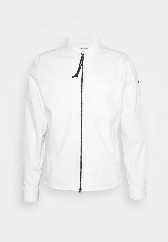 Summer jacket - gauze white