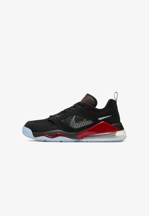MARS 270  - Basketball shoes - black/gym red/metallic silver