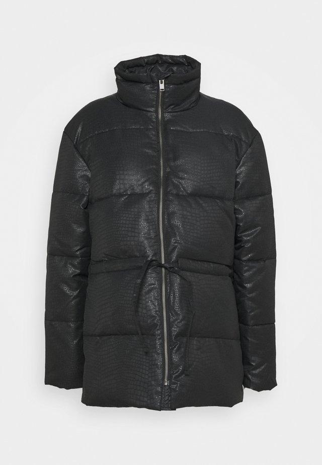 SLFARIA PUFFER JACKET - Winter coat - black