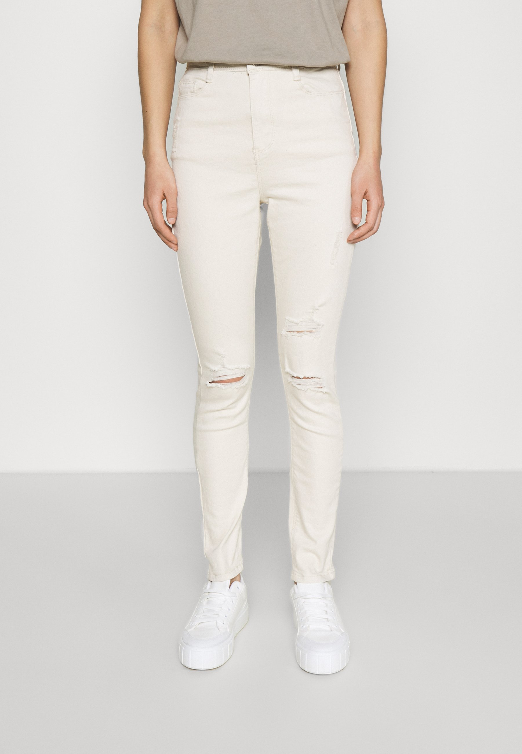 Women SINNER HIGHWAISTED AUTHENTIC RIPPED - Jeans Skinny Fit