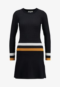 Morgan - Jumper dress - marine/fauve - 3