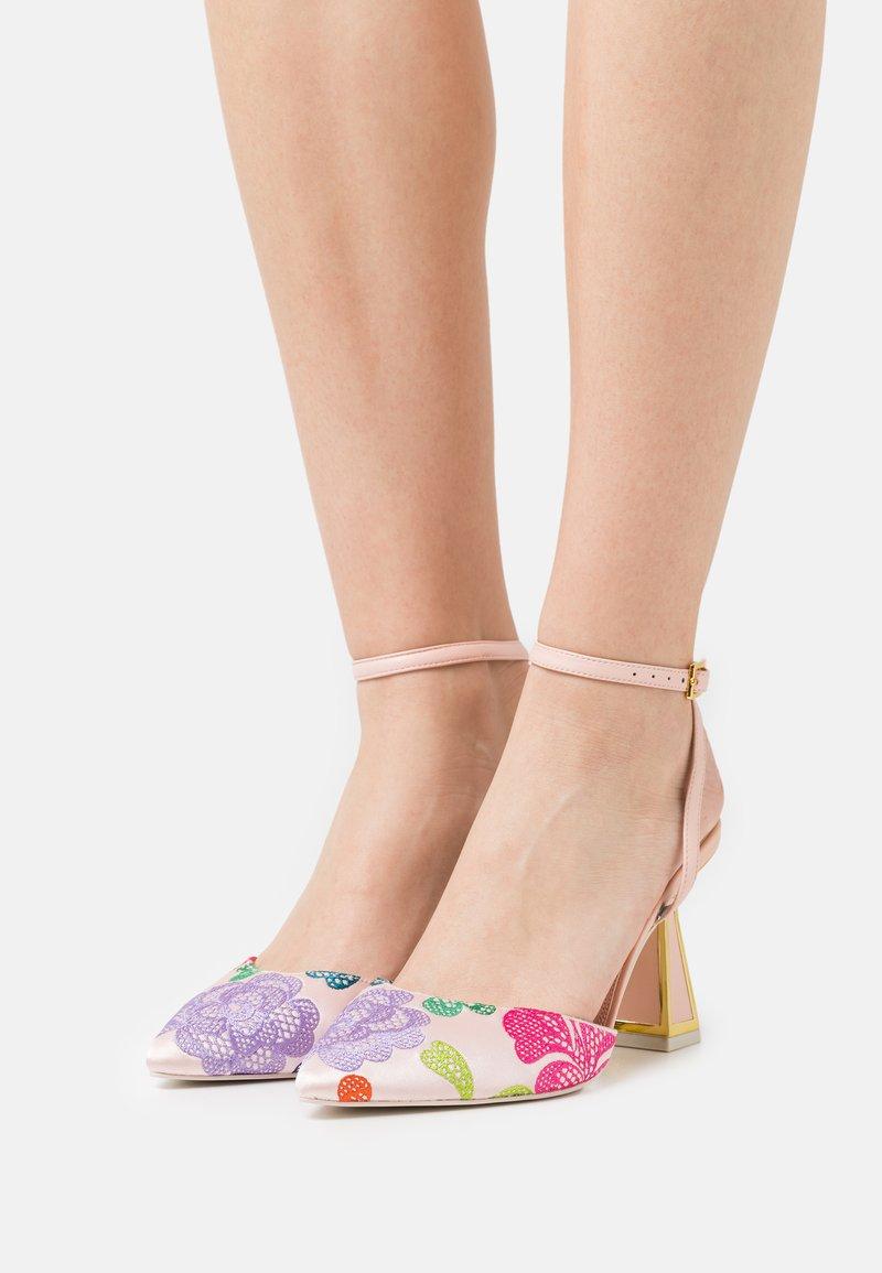 Kat Maconie - BLAIR - Classic heels - crystal pink/multicolor