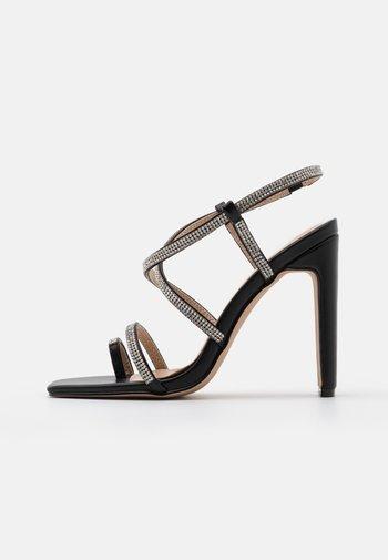 VANITY - T-bar sandals - black