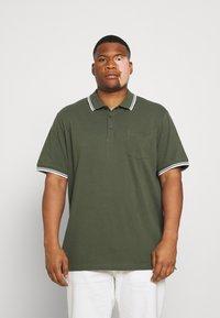 Johnny Bigg - HARPER TIPPED - Polo shirt - khaki - 0