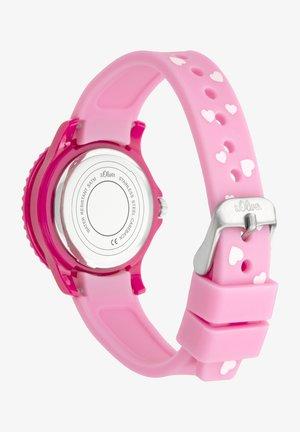 Chronograph watch - pink