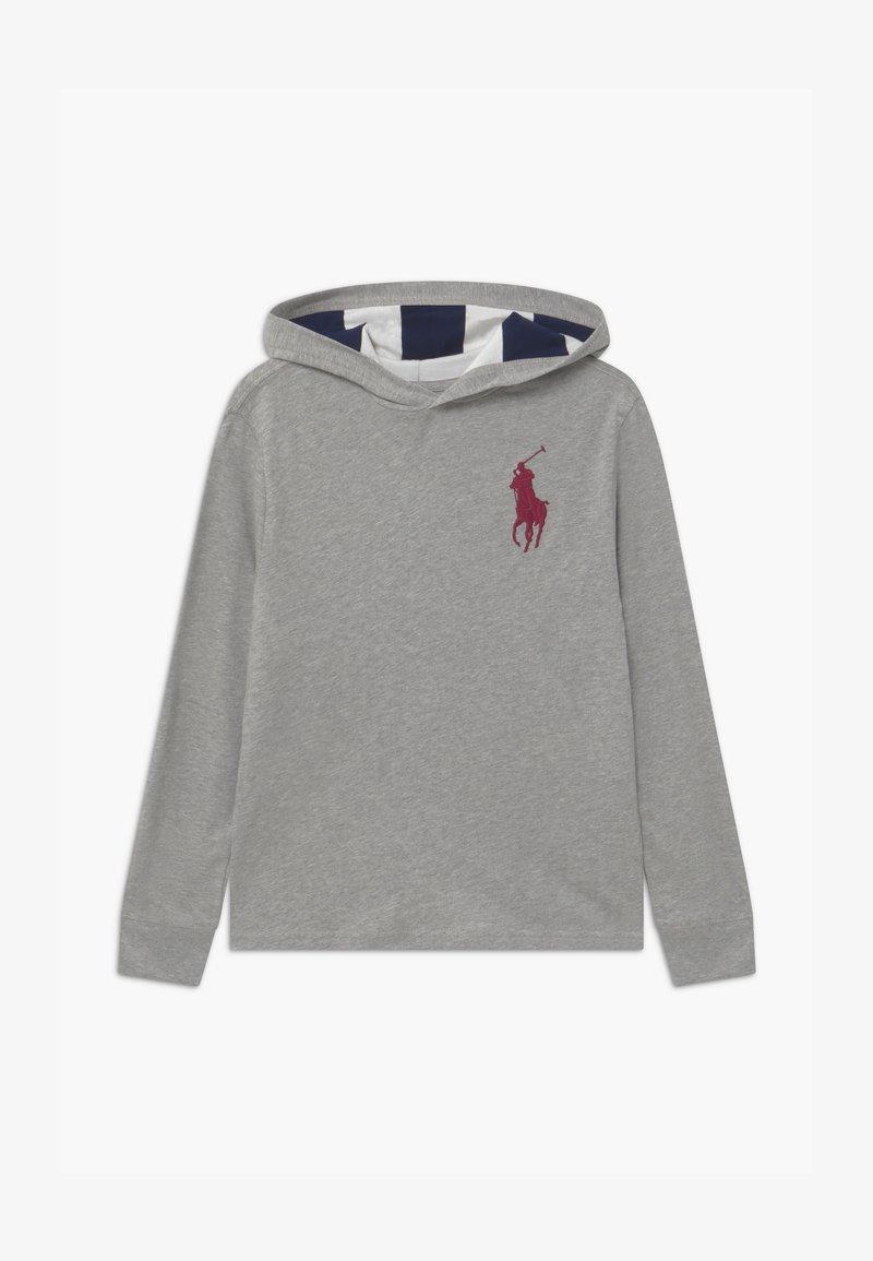 Polo Ralph Lauren - HOOD TEE - Jersey con capucha - andover heather