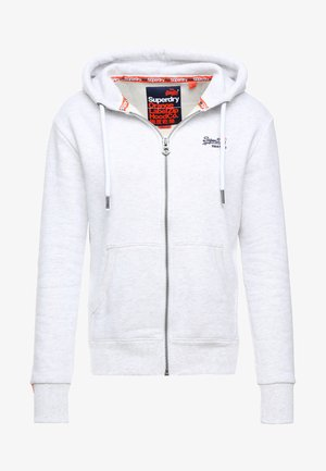 LABEL ZIPHOOD - Mikina na zip - ice marl