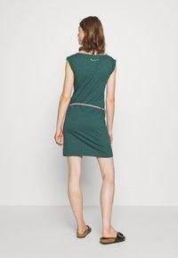 Ragwear - SLAVKA - Žerzejové šaty - dark green - 2