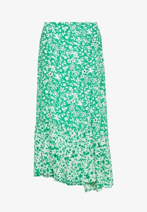 CLEO SKIRT - Falda larga - green
