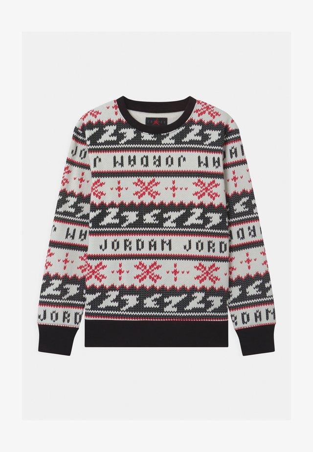 JUMPMAN HOLIDAY CREW - Sweatshirt - black