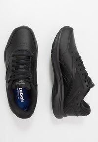 Reebok - WALK ULTRA 7 DMX MAX - Walking trainers - black/cold grey/collegiate royal - 1