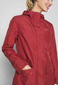 Jack Wolfskin - CAPE YORK COAT - Waterproof jacket - auburn - 6