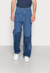Jaded London - BLUE YIN AND YANG CUT AND SEW - Jeans relaxed fit - blue - 0