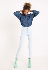 Pimkie - Button-down blouse - dunkelblau - 1