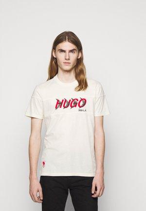 DAPPEL - T-shirt imprimé - natural