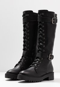 Refresh - Platform boots - black - 4