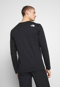 The North Face - MENS GRAPHIC TEE - Långärmad tröja - black/white - 2