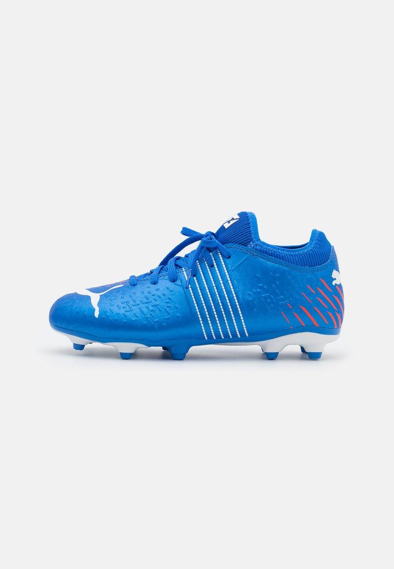 Puma - FUTURE Z 4.2 FG/AG JR UNISEX - Moulded stud football boots - bluemazing/sunblaze/surf