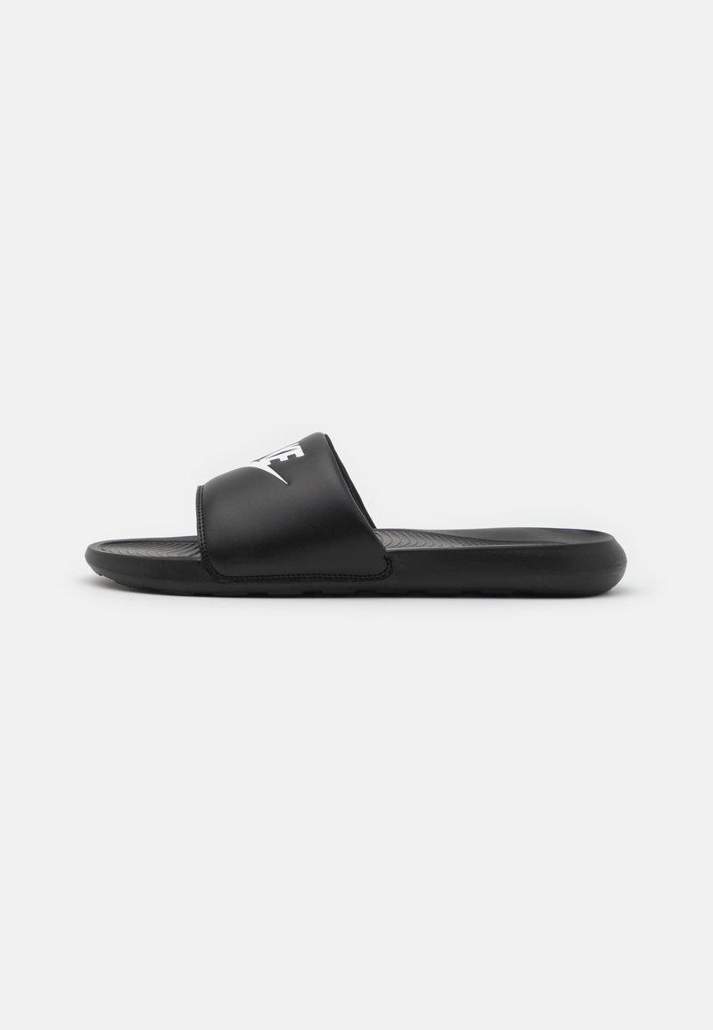 Nike Sportswear - VICTORI ONE SLIDE - Sandaler - black/white