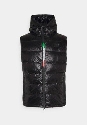 NOVASSO - Waistcoat - black