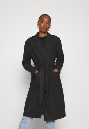 ONLTRILLION - Classic coat - dark grey melange