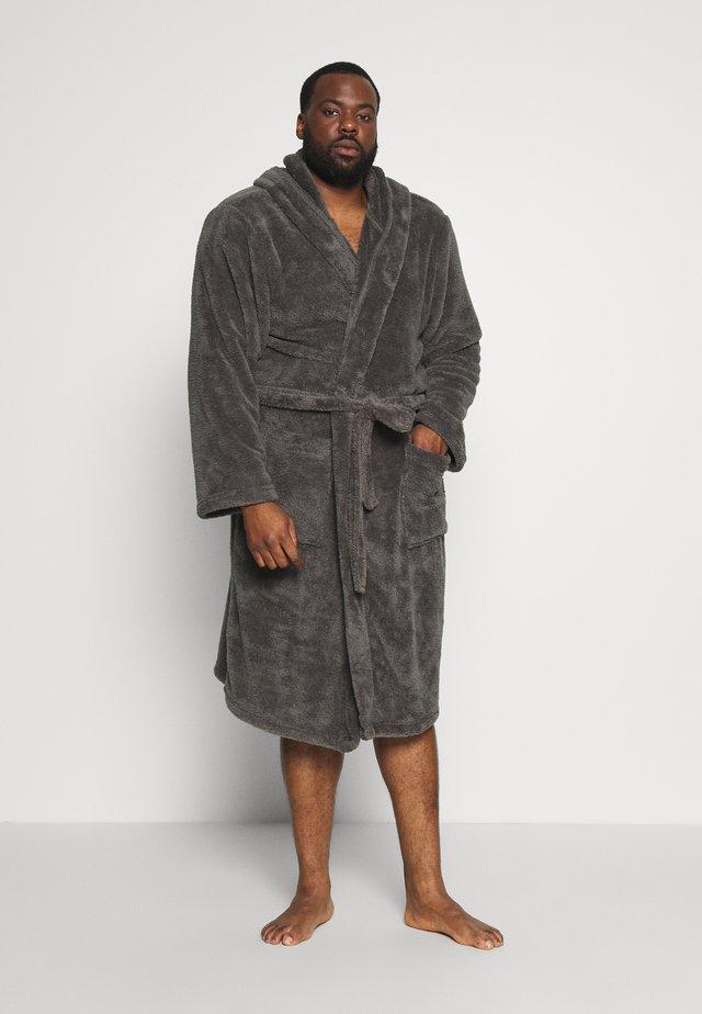 Dressing gown - dark gray